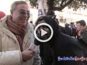 Pantera nera nel Carnevale di Ischitella