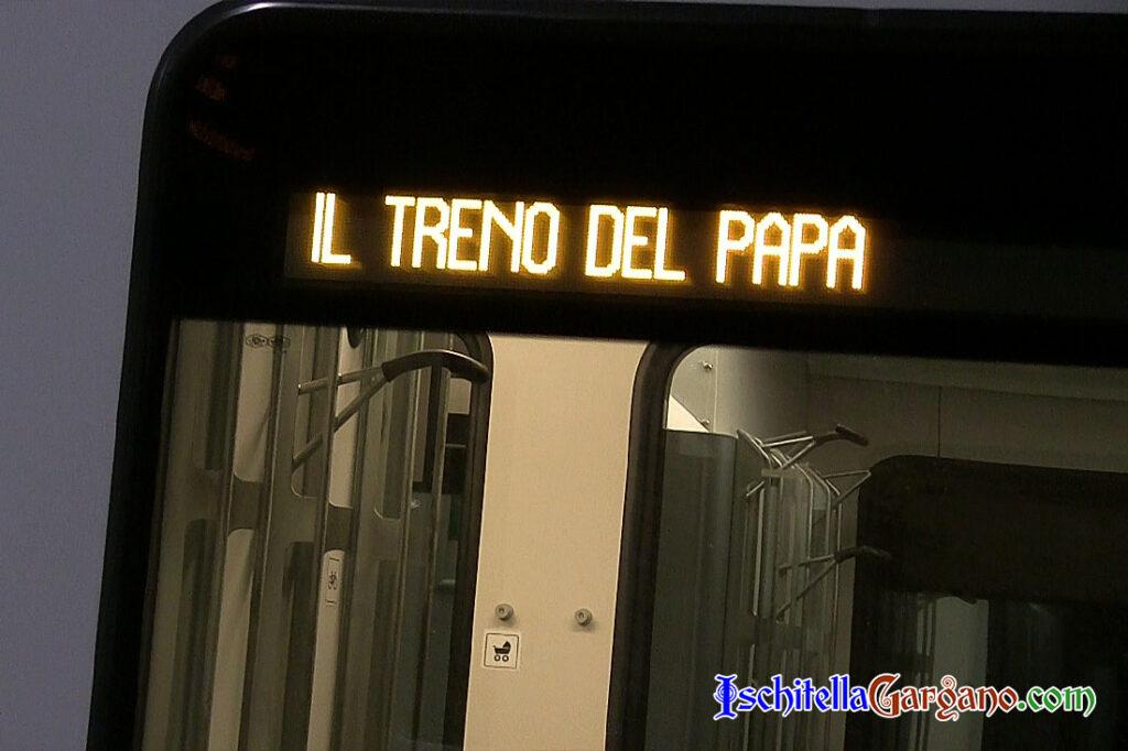 il treno del Papa